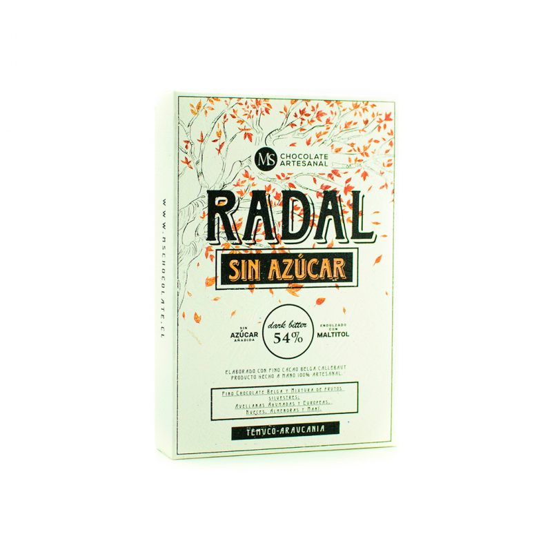 radal ms chocolate chocolate sin azucar